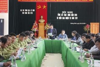 Hội nghị tổng kết hoạt động năm 2020 và triển khai nhiệm vụ năm 2021 của Ban tham vấn và các Nhóm BTTB khu vực VQG Phong Nha – Kẻ Bàng